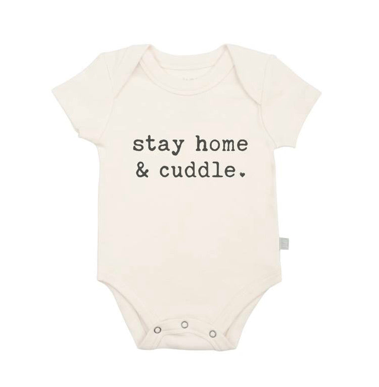 Lap Bodysuit - Stay home and cuddle