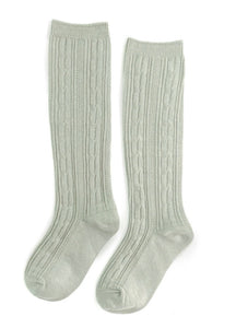 Knee High Socks - Sage