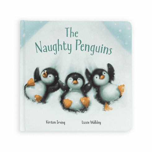 Jellycat Padded Book - The Naughty Penguin