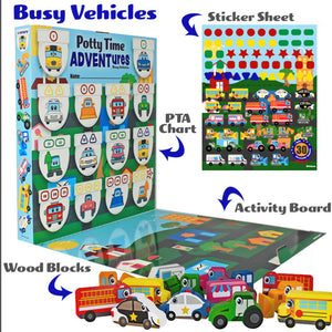 Potty Time ADVENTure- Busy Vehicles