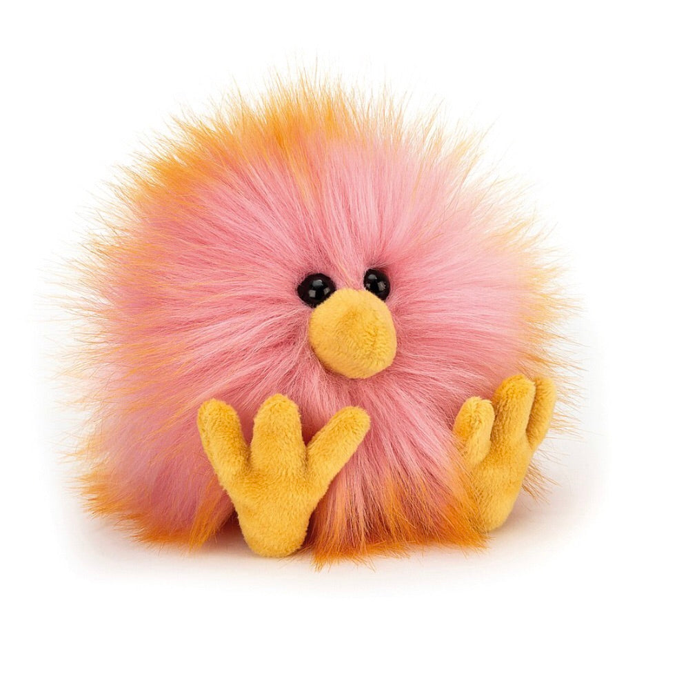 Pink/Orange Crazy Chick - Jellycat