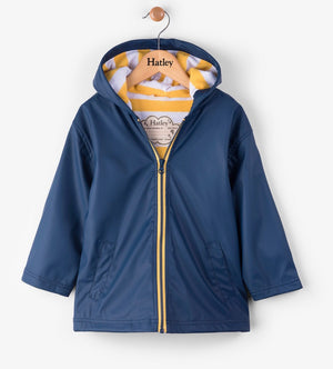 Splash Jacket - Navy and Yellow