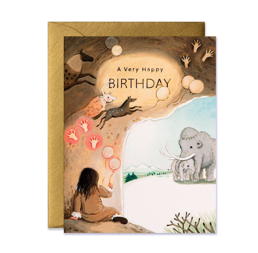 Birthday Card - Caveman Birthday