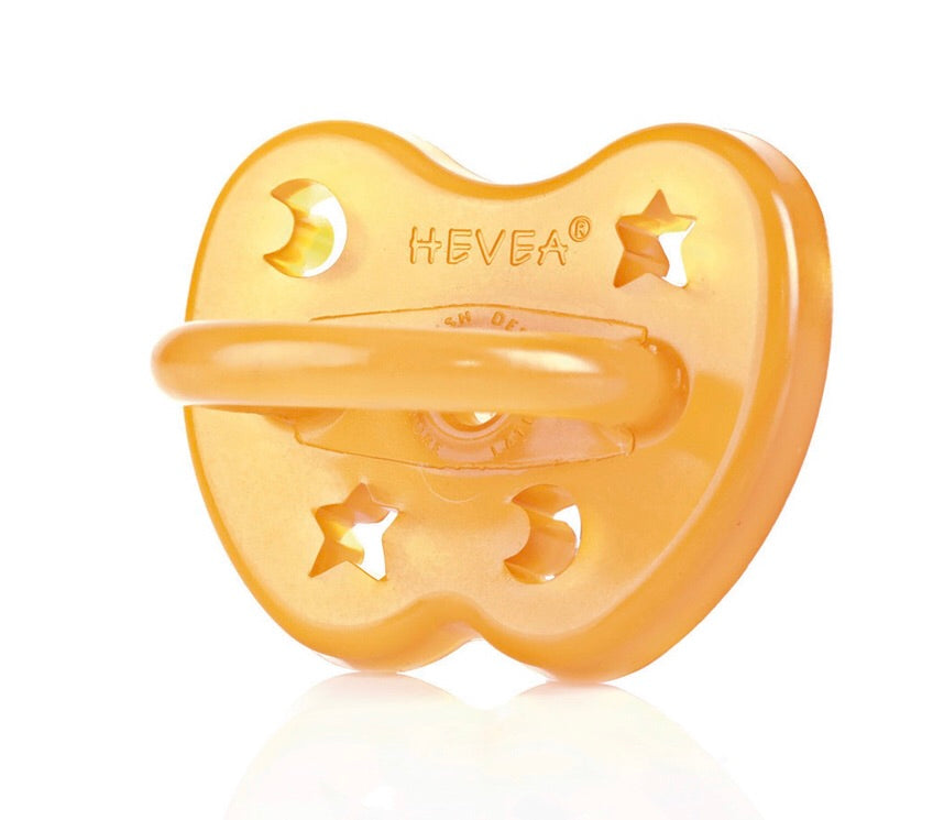 Hevea Pacifier - Star & Moon Design