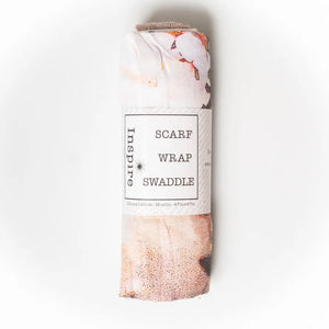 Muslin Swaddle - Almond Blossoms