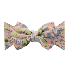 Printed Knot - Avocado Floral