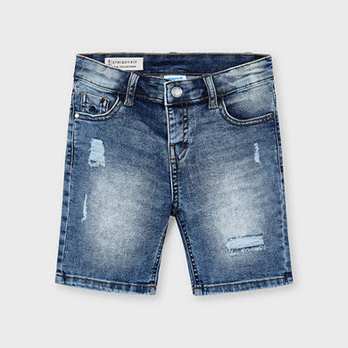 Denim Shorts - Medium Wash
