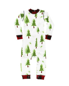 Holiday Infant Flapjack Onesie - Evergreen