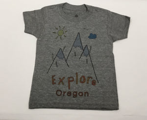 Orangeheat Tee - Explore Oregon