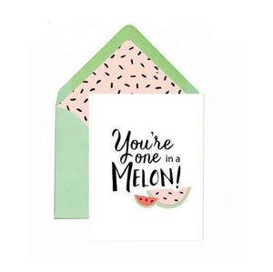Greeting Card - One In A Melon