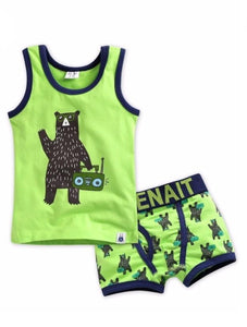 Underwear Shirt & Boxer Set - DJ Bear