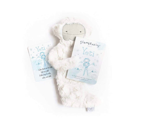 Slumberkins Snuggler Bundle - Yeti with Book - Mindfulness