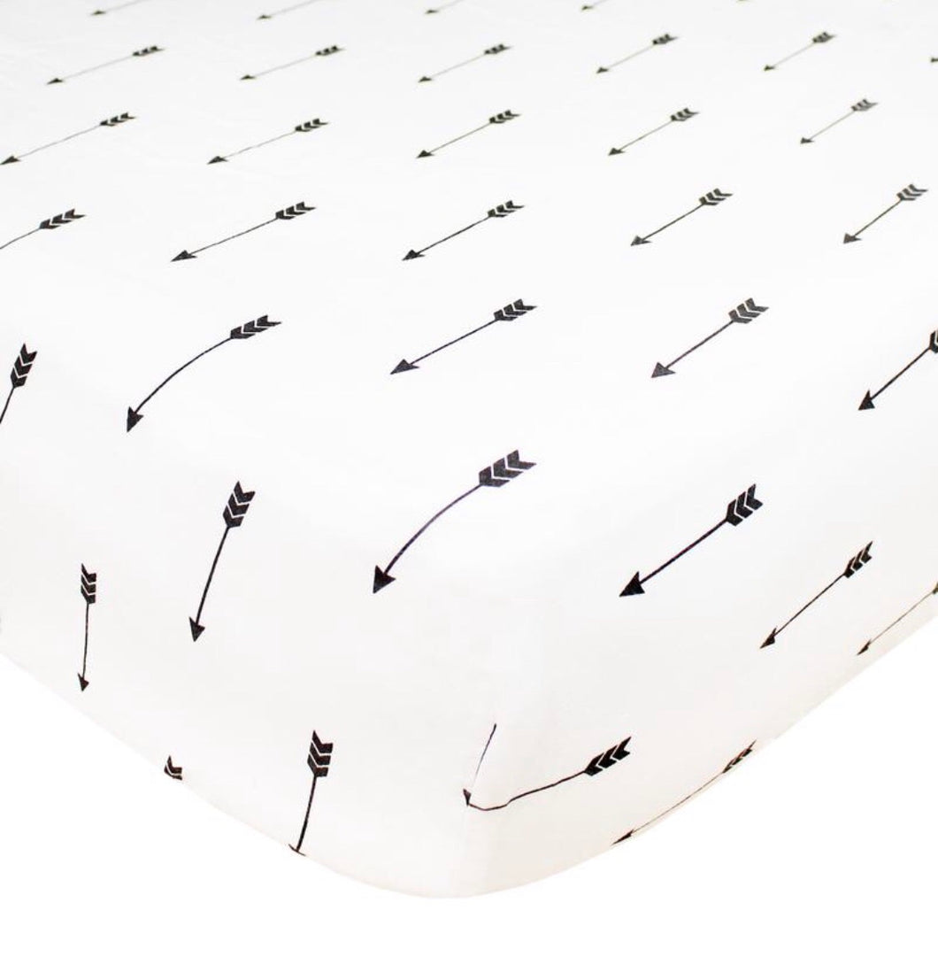 Premium Fitted Crib Sheet - Native