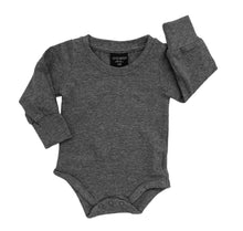 Little Bipsy Long Sleeve Onepiece - Charcoal