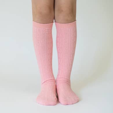 Knee High Socks - Carnation Pink