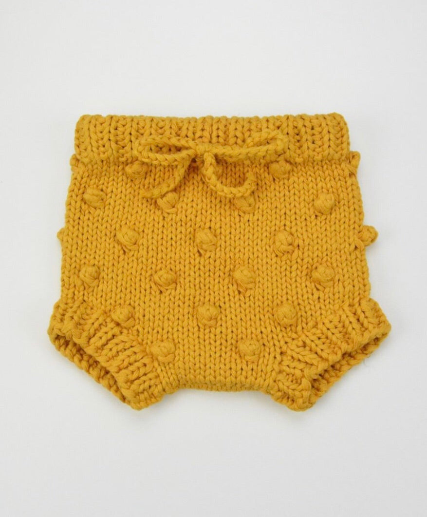 Cotton Knit Popcorn Bloomers