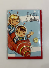 Vintage Folded Note Cards - Birthday