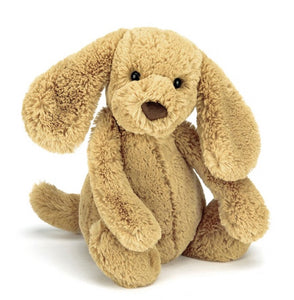 Medium Bashful Toffee Puppy - Jellycat