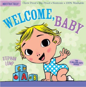 Indestructibles Book - Welcome, Baby