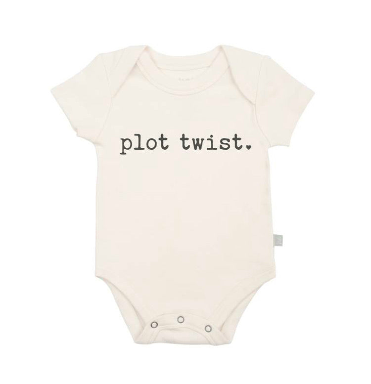 Graphic Bodysuit - Plot Twist