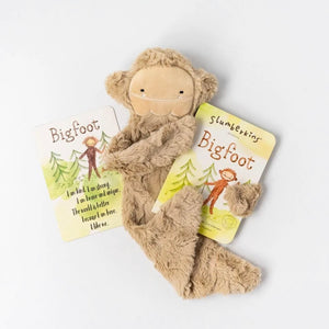 Slumberkins Snuggler Bundle - Bigfoot with Book