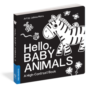 Hello, Baby Animals - High-Contrast Book