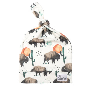 Top Knot Adjustable Hat - Bison
