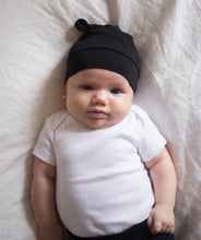 Organic Cotton Beanie - Black