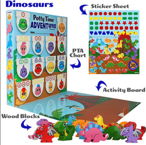 Potty Time ADVENTure - Dinosaurs