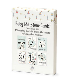 Puppy Baby Milestone Cards - Jellycat