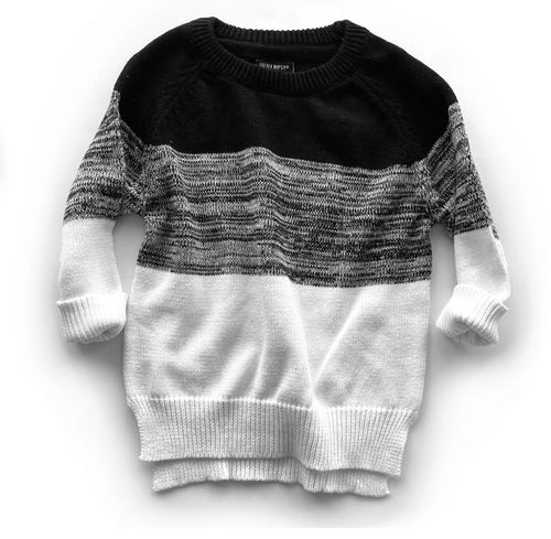 Knit Sweater - Monochrome
