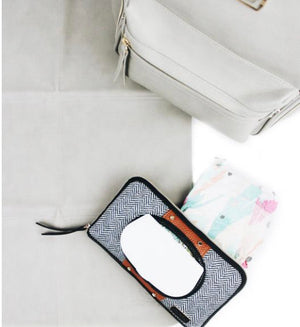 Coffee and Cream Wipes Case