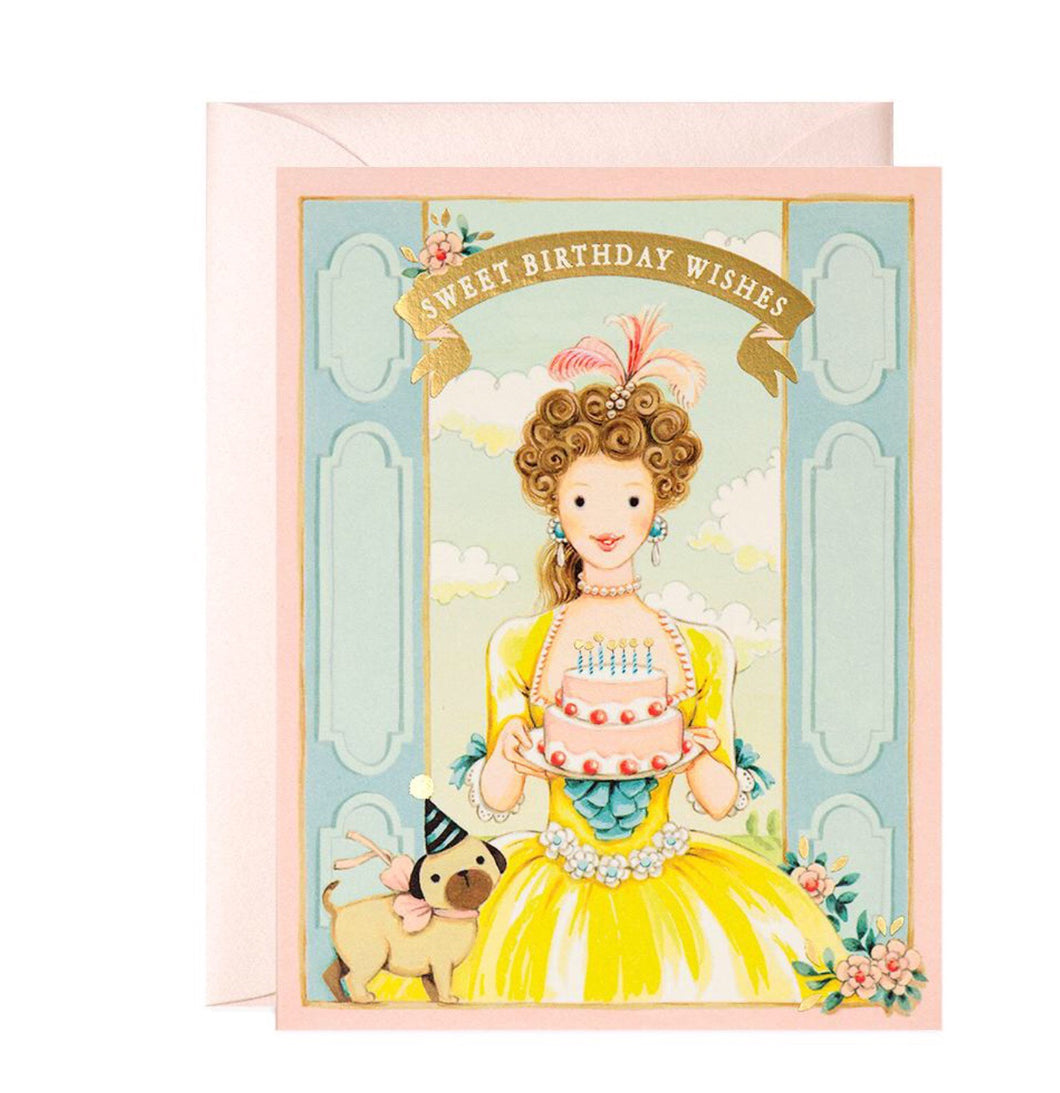 Birthday Card - Princess Birthday