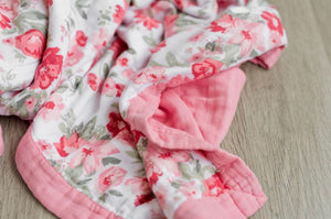 Rayon Muslin Quilt - Spiced Blossom