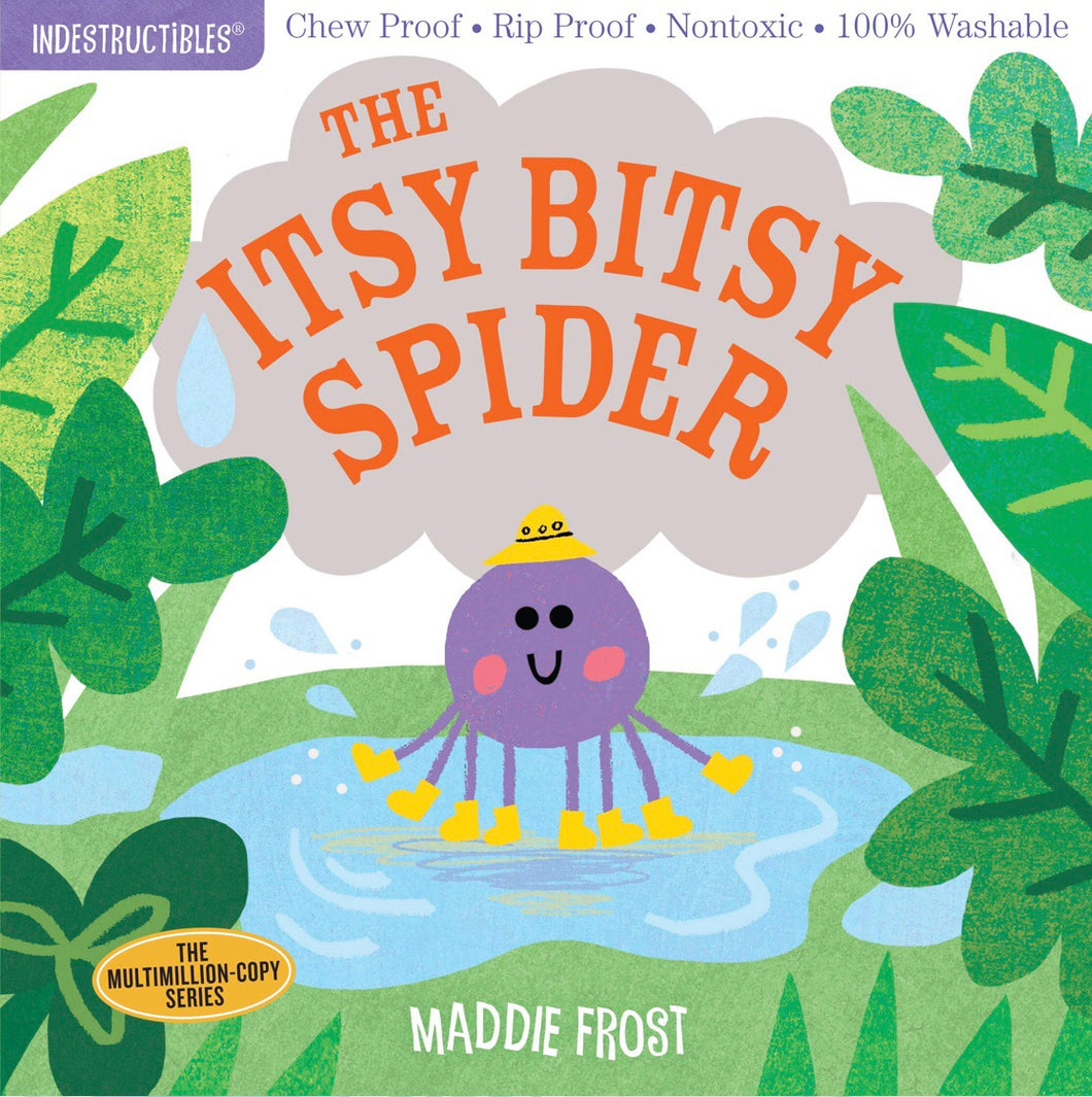 Indestructibles Book - The Itsy Bitsy Spider