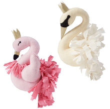 Swan and Flamingo Wall Mount