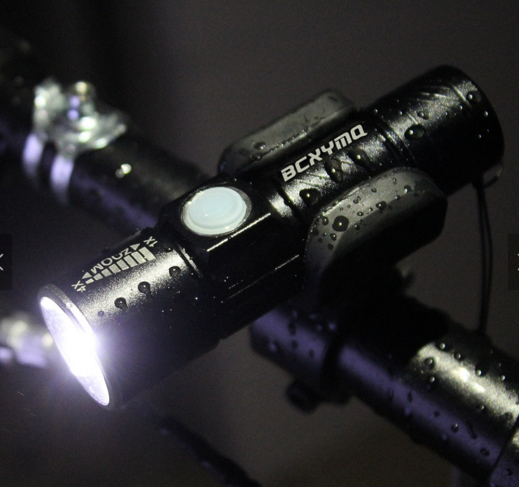 Flash Light, with bike attachment
