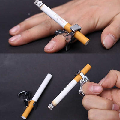 Cigarette Holder Ring -