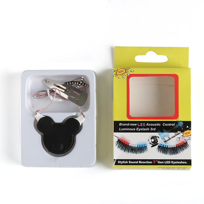 LED Luminous False Eyelash -