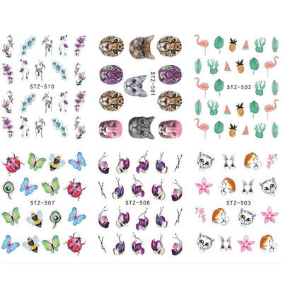 Colorful Nail Art Sticker