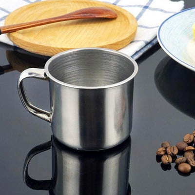 Stainless Steel Coffee Tea Mug - 100ML