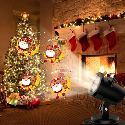 12 Pattern Christmas Laser Projector -