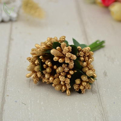 Handmade Stamen Flower Set (12Pcs) -