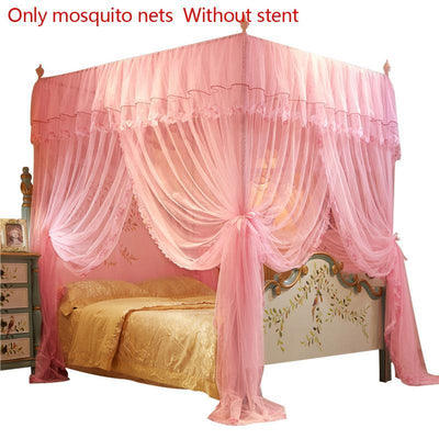 Queen Canopy Bed Curtains -