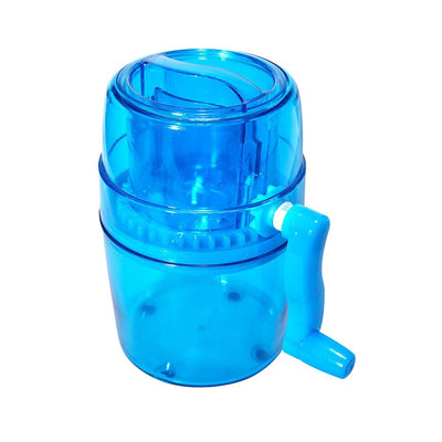 Portable Ice Crusher Machine - Blue