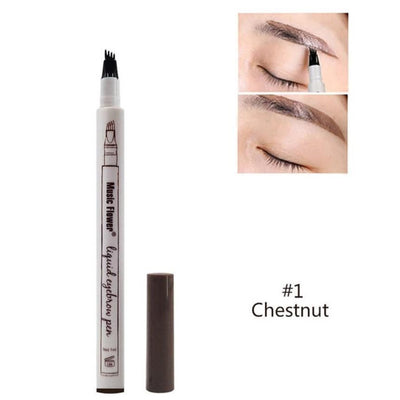 Eyebrow Enhancer Pen - #1 Chestnut