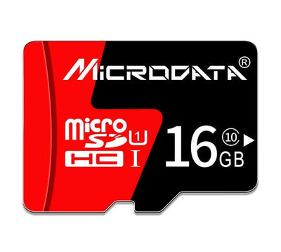 Hi-Speed MicroSD Memory Card - 16GB Class10