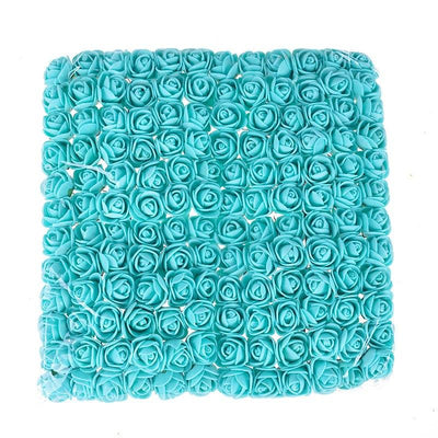 Artificial Small Rose Flower Head (144Pcs) -