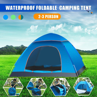 Outdoor Foldable Pop Up Open Tent -