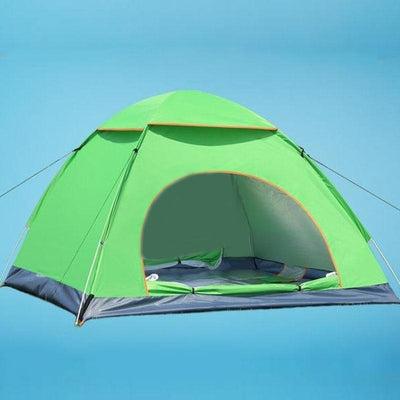 Outdoor Foldable Pop Up Open Tent - Green